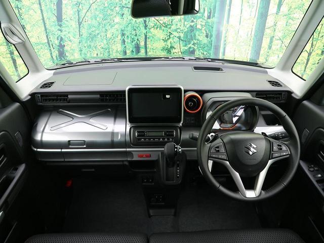 ハイブリッドXZ ターボ 届出済未使用車 スズキセーフティサポート 両側パワースライドドア USB端子×2 前席シートヒーター(2枚目)