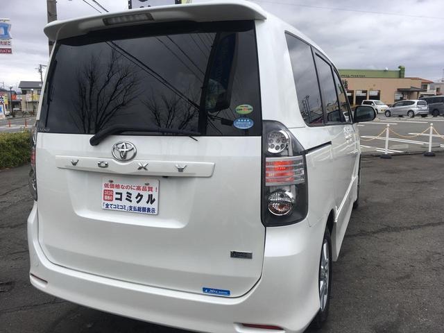 トヨタ ヴォクシー ZS TV付ナビ Bカメラ 左側Pスライド 純正エアロ