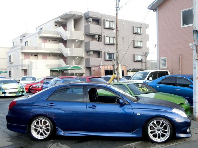 トヨタ ヴェロッサ VR25 純正エアロ 社外車高調 SSR18インチアルミ