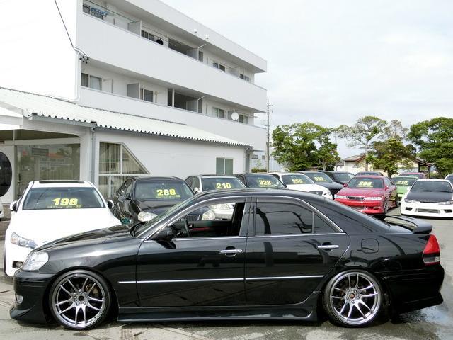 トヨタ マークII iR-V STガレージエアロ WORK19インチ 5速MT