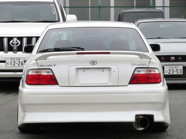 トヨタ チェイサー ツアラーV エキサイティングパッケージ 純正エアロ 車高調