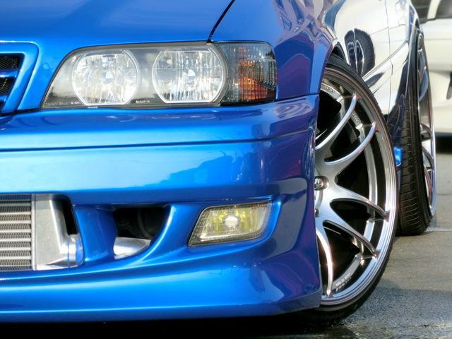 新品エアロ 新品WORK19インチアルミ 新品STガレージフルタップ車高調 新品BLITZインタークーラー オールステンマフラー