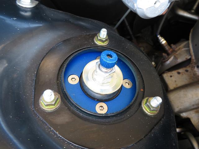 新品WORKエモーション18インチアルミ 新品タイヤ 新品STガレージフルタップ車高調
