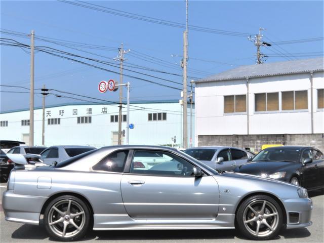 25GTターボ ニスモエアロ GTR18インチ 純正5MT(4枚目)