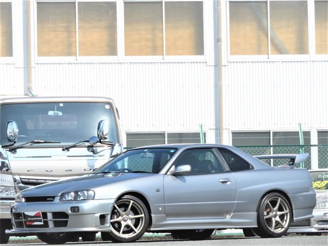 25GTターボ ニスモエアロ GTR18インチ 純正5MT(14枚目)