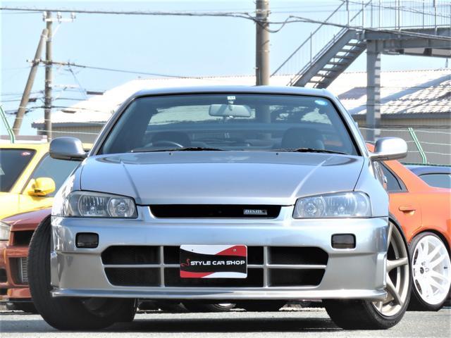 25GTターボ ニスモエアロ GTR18インチ 純正5MT(18枚目)