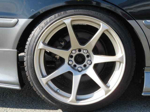 新品CSTゼロハイパー18インチアルミ TEINフルタップ車高調 新品タイヤ