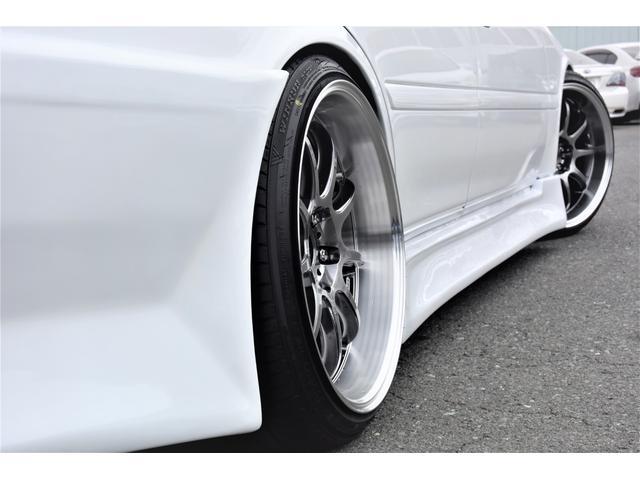 純正エアロ WORK18インチアルミホイール RS-Rフルタップ車高調