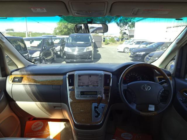 トヨタ アルファードV MZ サンルーフ 両側自動ドア HDDナビ バックカメラ