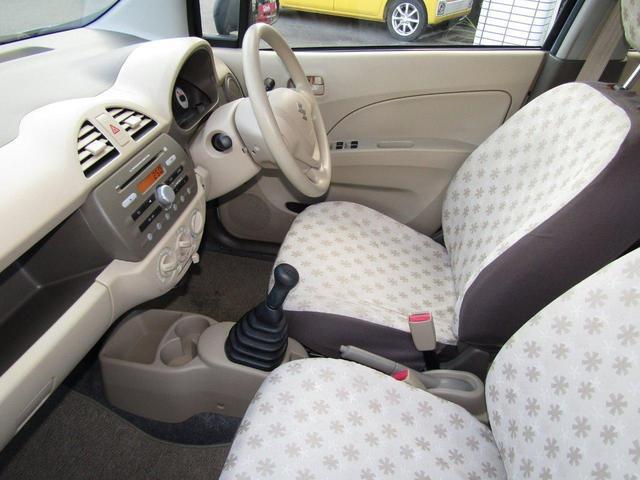 F 1年保証付 車検R4年11月迄 走行8千km 5速マニュアル車 盗難防止システム キーレス CD再生 パワーウィンドウ パワーステアリング 運転席・助手席エアバック エアコン(18枚目)