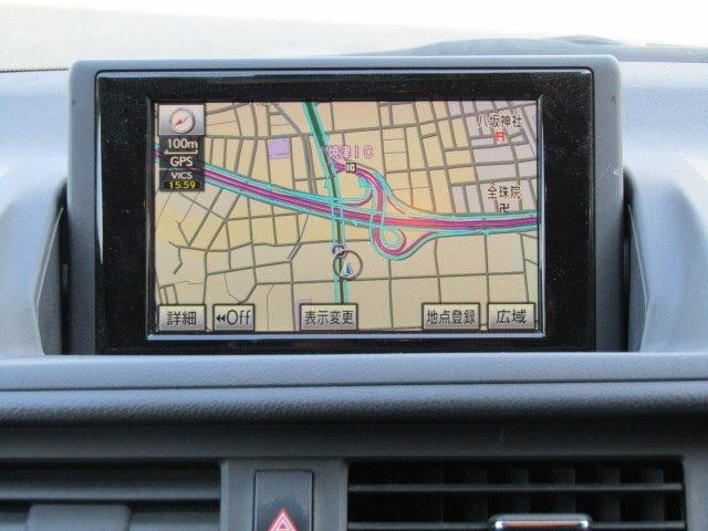 CT200h バージョンL 1年保証付 LEDヘッドライト HDDナビ レザーシート オートライト バックカメラ スマートキー コーナーセンサー CD・DVD再生 フルセグ ETC プッシュスタート パワーシート シートヒーター(7枚目)