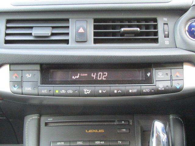 CT200h バージョンL 1年保証付 LEDヘッドライト HDDナビ レザーシート オートライト バックカメラ スマートキー コーナーセンサー CD・DVD再生 フルセグ ETC プッシュスタート パワーシート シートヒーター(8枚目)