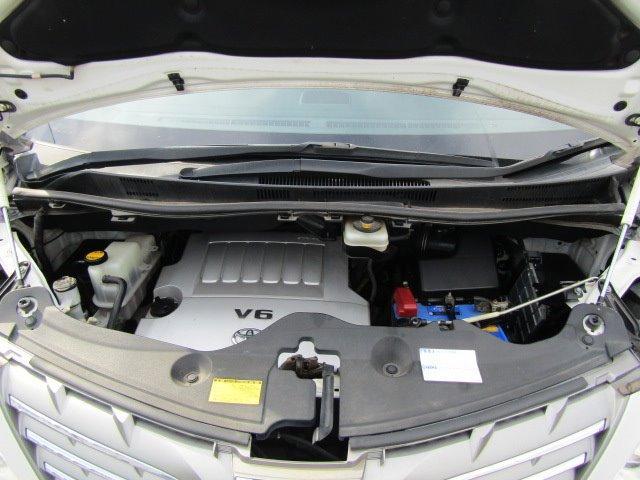 350S Cパッケージ 1年保証付 サンルーフ 両側パワースライドドア HDDナビ レザーシートカバー 後席フリップダウンモニター コーナーセンサー 19インチ社外アルミ 電動リアゲート ローダウン バックカメラ 7人乗(5枚目)