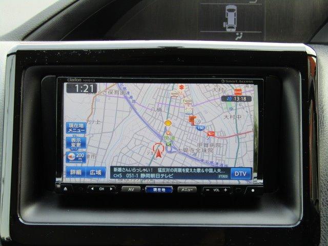 ZS 1年保証付 エアロ 後席フリップダウンモニター 両側パワースライドドア LEDヘッドライト SDナビ 7人乗 Bluetooth スマートキー バックカメラ オートライト ローダウン CD・DVD再生(6枚目)