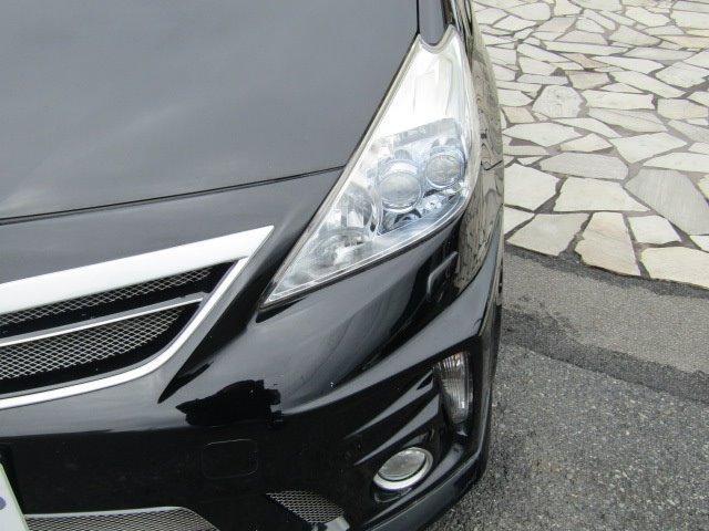 S 1年保証付 車検令和4年8月迄 エアロ LEDヘッドライト HDDナビ Bluetooth バックカメラ オートライト スマートキー CD・DVD再生 地デジTV ETC 社外マフラー オートエアコン(39枚目)
