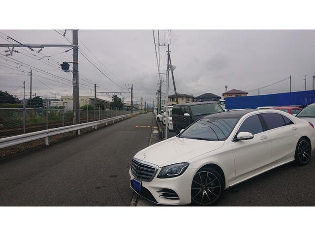 S560 4マチックロング ショーファー AMGライン S560 4マチック ロング AMGライン 4WD ショーファーPKG/リアエンターテイメント ショーファーパッケージ 20インチAMGオプションアルミホイール(6枚目)