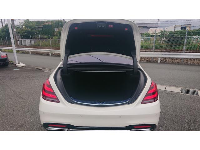 S560 4マチックロング ショーファー AMGライン S560 4マチック ロング AMGライン 4WD ショーファーPKG/リアエンターテイメント ショーファーパッケージ 20インチAMGオプションアルミホイール(12枚目)