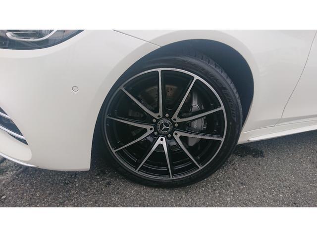 S560 4マチックロング ショーファー AMGライン S560 4マチック ロング AMGライン 4WD ショーファーPKG/リアエンターテイメント ショーファーパッケージ 20インチAMGオプションアルミホイール(18枚目)
