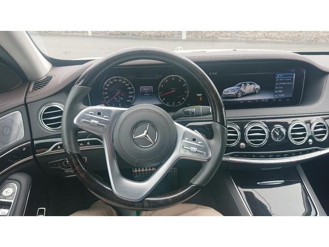 S560 4マチックロング ショーファー AMGライン S560 4マチック ロング AMGライン 4WD ショーファーPKG/リアエンターテイメント ショーファーパッケージ 20インチAMGオプションアルミホイール(25枚目)
