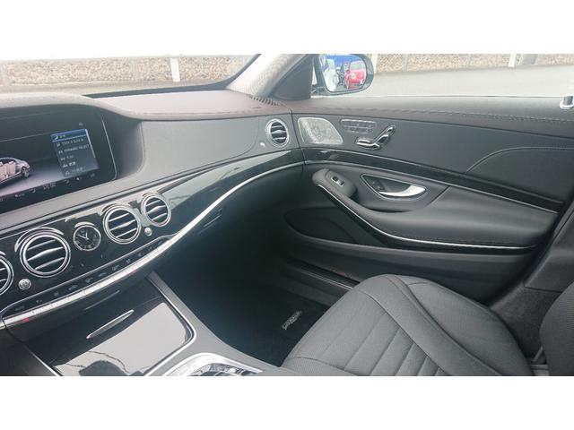S560 4マチックロング ショーファー AMGライン S560 4マチック ロング AMGライン 4WD ショーファーPKG/リアエンターテイメント ショーファーパッケージ 20インチAMGオプションアルミホイール(26枚目)