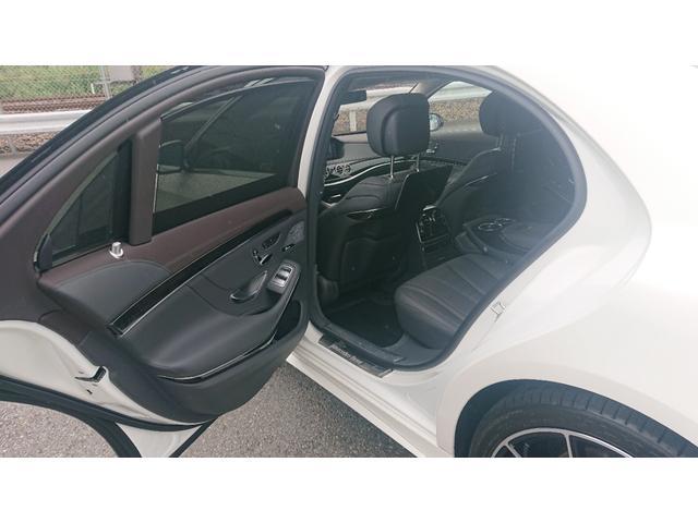 S560 4マチックロング ショーファー AMGライン S560 4マチック ロング AMGライン 4WD ショーファーPKG/リアエンターテイメント ショーファーパッケージ 20インチAMGオプションアルミホイール(32枚目)
