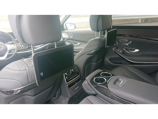 S560 4マチックロング ショーファー AMGライン S560 4マチック ロング AMGライン 4WD ショーファーPKG/リアエンターテイメント ショーファーパッケージ 20インチAMGオプションアルミホイール(34枚目)