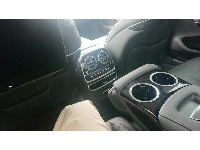 S560 4マチックロング ショーファー AMGライン S560 4マチック ロング AMGライン 4WD ショーファーPKG/リアエンターテイメント ショーファーパッケージ 20インチAMGオプションアルミホイール(36枚目)