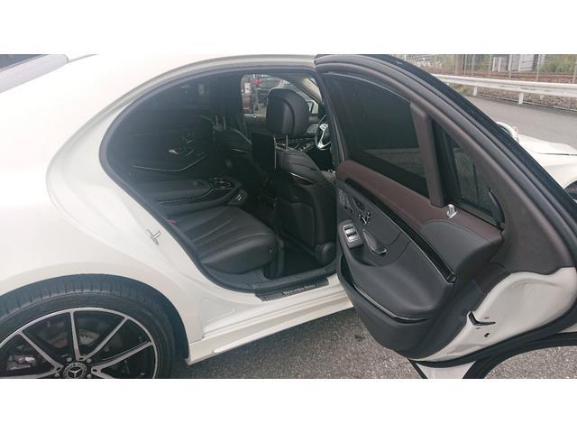 S560 4マチックロング ショーファー AMGライン S560 4マチック ロング AMGライン 4WD ショーファーPKG/リアエンターテイメント ショーファーパッケージ 20インチAMGオプションアルミホイール(42枚目)