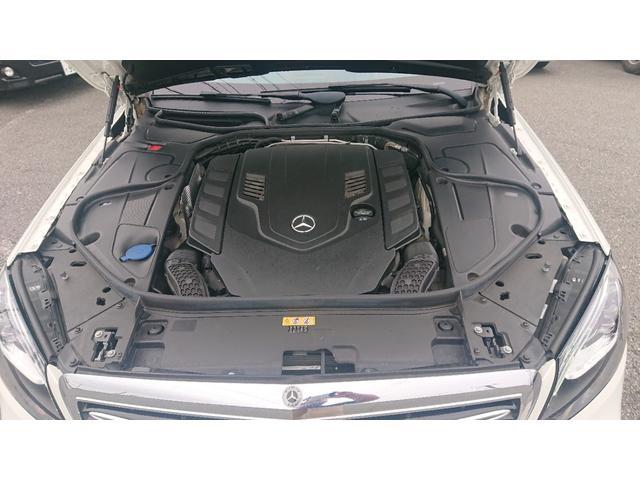 S560 4マチックロング ショーファー AMGライン S560 4マチック ロング AMGライン 4WD ショーファーPKG/リアエンターテイメント ショーファーパッケージ 20インチAMGオプションアルミホイール(45枚目)
