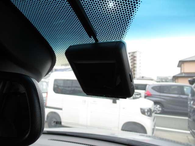 ドライブレコーダが装備されているので、万が一のときにも安心です!