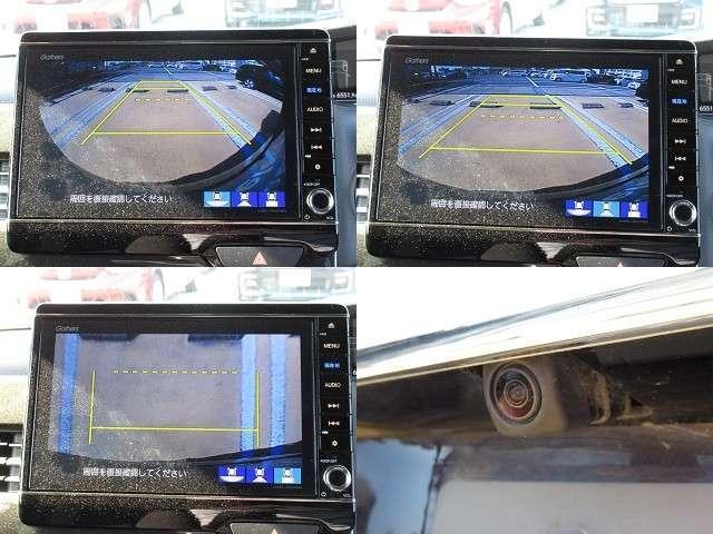 G・Lホンダセンシング プレミアムベルベットパープルパール 8インチプレミアムナビバックカメラ ETC 両側パワースライドドア 前後純正ドライブレコーダー(15枚目)