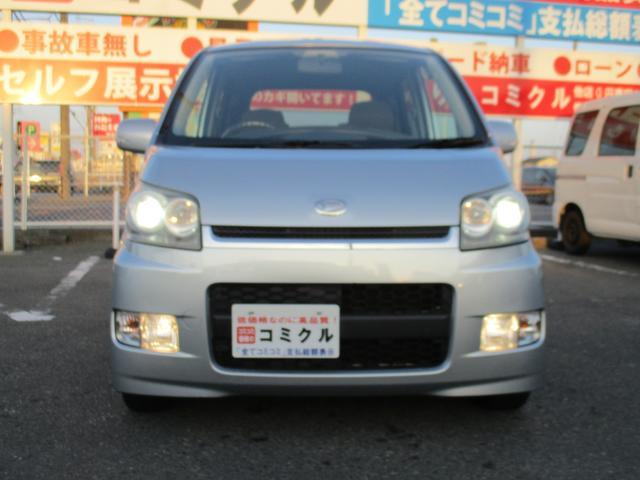 ダイハツ ムーヴ カスタム Xリミテッド ABS CD スマ-トキ-