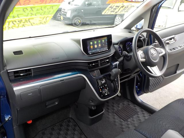カスタム X ハイパーSA アルミ&タイヤ4本新品 SDナビフルセグTV バックモニター キーフリー LEDヘッドライト ステアリングスイッチ 純正エアロ 純正アルミ(74枚目)