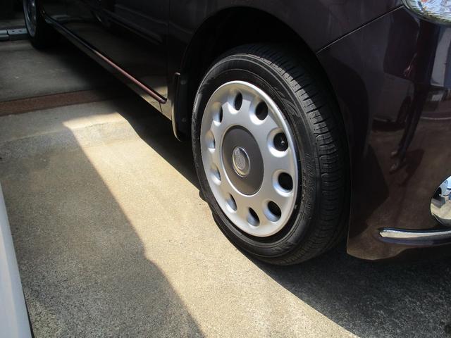 タイヤ新品と交換して納車します。