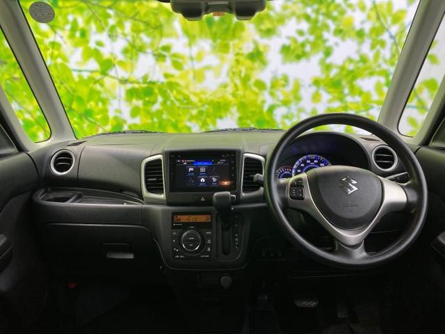 X 純正 ナビ/両側電動スライドドア/セーフティサポート(スズキ)/車線逸脱防止支援システム/アラウンドビューモニター/ヘッドランプ HID/Bluetooth接続/ETC/EBD付ABS バックカメラ(4枚目)