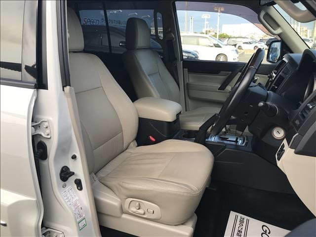 ロング スーパーエクシード ディーゼル SUPER EXCEED 4WD クルーズコントロール ETC キーレス サンルーフ HID ヘッドライトランプ オートライト パワーシート AC100V シートヒーター 革シート(9枚目)