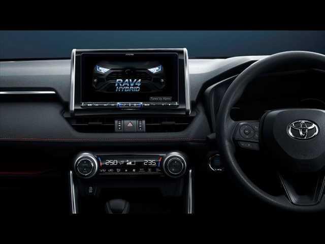X 新品アルパイン9型ナビ地デジ バックカメラ ETC 新車未登録 AC100V クリアランスソナー サンルーフ ルーフレール セーフティセンス 衝突軽減 レーンキープ レーダークルコン スマートキー(3枚目)