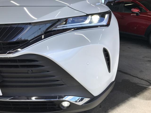 G 新車未登録 ディスプレイオーディオ Bluetooth LEDヘッドライト パワーバックドア スマートキー セーフティセンス レーダークルーズコントロール ハーフレザシート フォグランプ(28枚目)