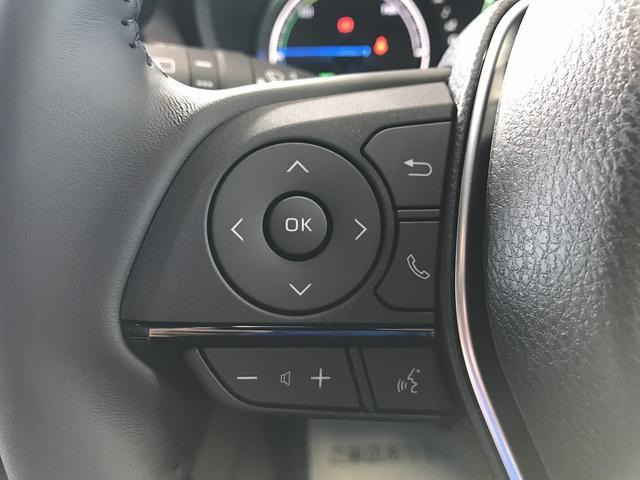 G 新車未登録 ディスプレイオーディオ Bluetooth LEDヘッドライト パワーバックドア スマートキー セーフティセンス レーダークルーズコントロール ハーフレザシート フォグランプ(34枚目)