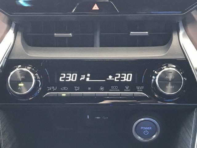 G 新車未登録 ディスプレイオーディオ Bluetooth LEDヘッドライト パワーバックドア スマートキー セーフティセンス レーダークルーズコントロール ハーフレザシート フォグランプ(39枚目)