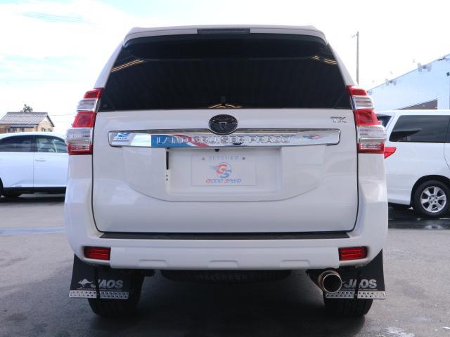 トヨタ ランドクルーザープラド TX Lパッケージ  サンルーフ 黒革 クルコン LED