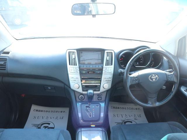 トヨタ ハリアーハイブリッド ベースグレード メーカーナビ Bカメ サンルーフ ETC
