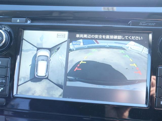 日産 エクストレイル 20X 地デジ対応SDナビ アラウンドビューモニター LED