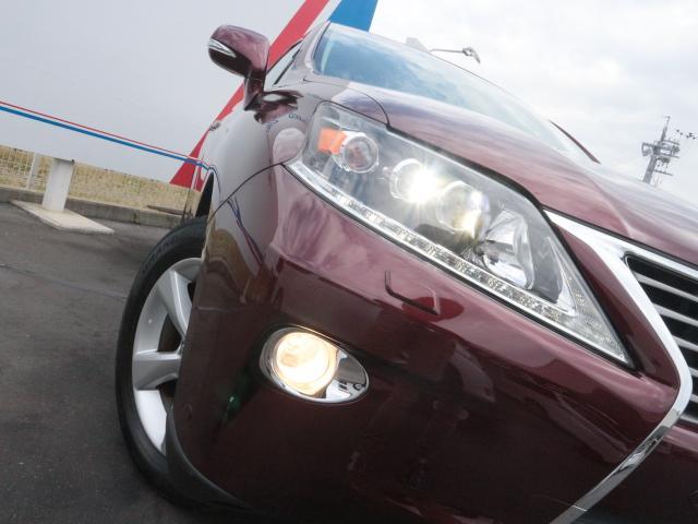 レクサス RX RX270 バージョンL メーカーナビ Bカメ SR 本革