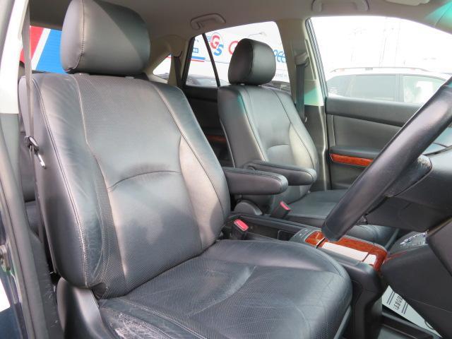 トヨタ ハリアー 240G Lパッケージ 本革 シートヒーター HID HDD