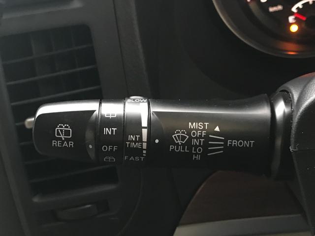 ロング SUPER EXCEED MKW/MK46ML+17AW リフトアップ A/Tタイヤ HDDナビ シートヒーター Pシート ETC クルーズコントロール 3列7人 ETC ロックフォード 本革シート(44枚目)