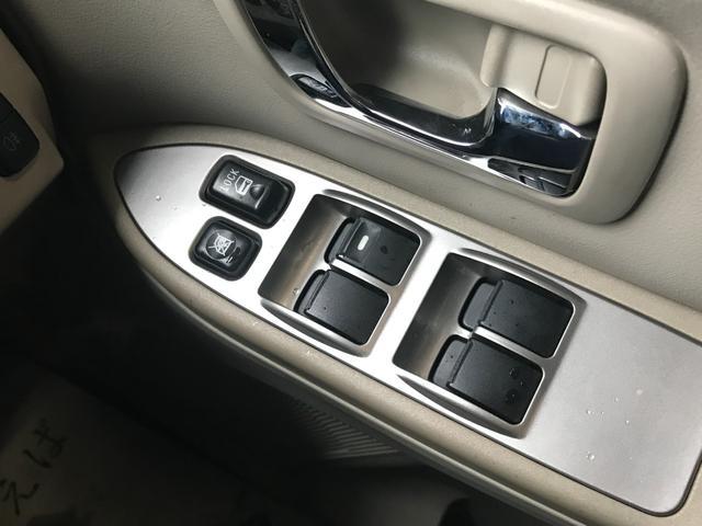 ロング SUPER EXCEED MKW/MK46ML+17AW リフトアップ A/Tタイヤ HDDナビ シートヒーター Pシート ETC クルーズコントロール 3列7人 ETC ロックフォード 本革シート(48枚目)