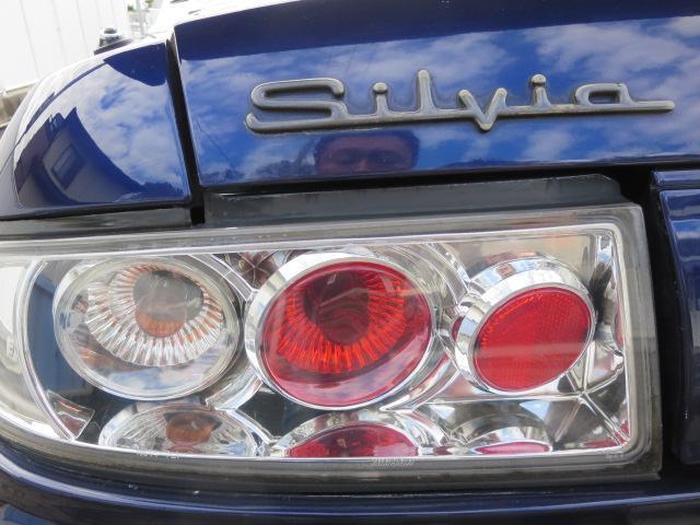 日産 シルビア K's エアロSE 車高調 社外マフラー カーボンボンネット