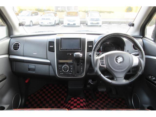 T ターボ フルエアロ ローダウン 車高調 HDDナビ フルセグTV フリップダウンモニター 社外16インチアルミホイール スマートキー HIDヘッドランプ オートエアコン ETC(22枚目)