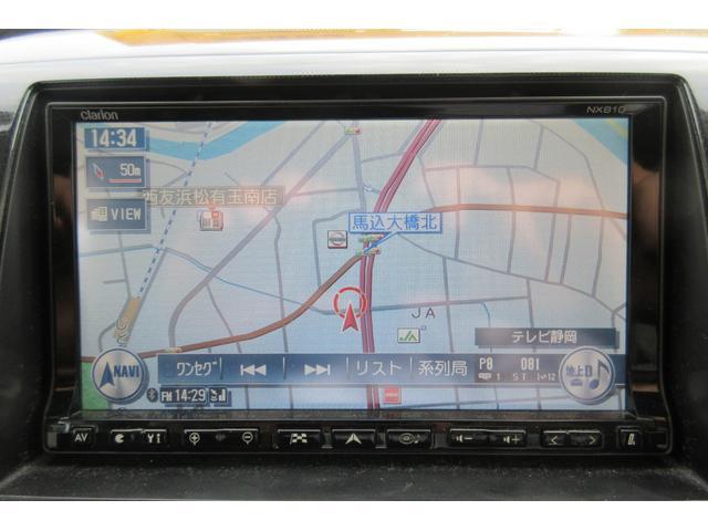 T ターボ フルエアロ ローダウン 車高調 HDDナビ フルセグTV フリップダウンモニター 社外16インチアルミホイール スマートキー HIDヘッドランプ オートエアコン ETC(25枚目)